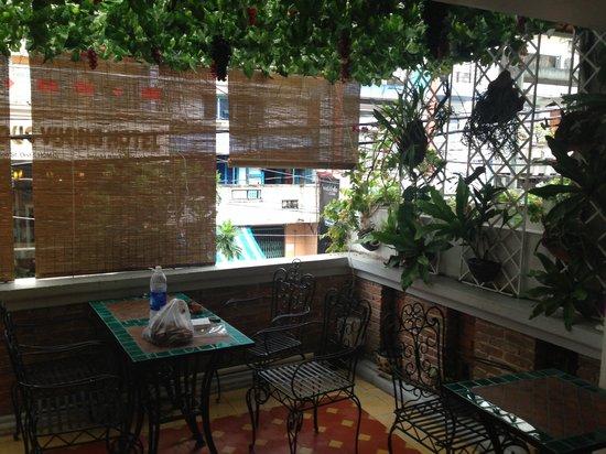 Hong Han Hotel: Balcony