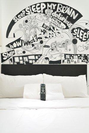 Hop Inn: Double Room by Jane Lee