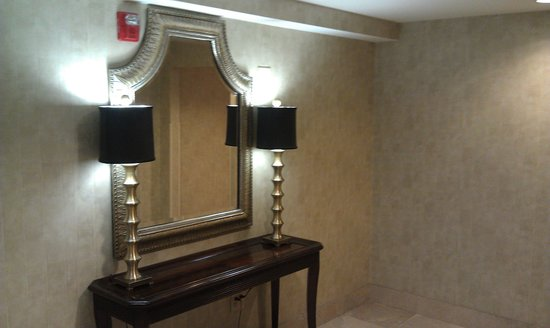 Hampton Inn & Suites Savannah - I-95 S - Gateway : 4th Floor Elevator Waiting Area