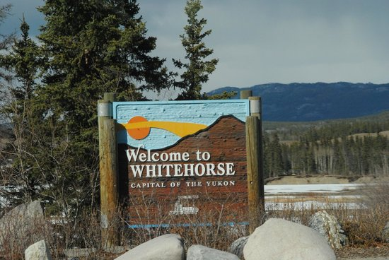 Robert Service Campground : Welcome to Whitehorse