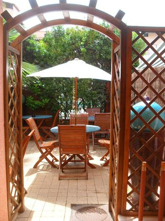 Hotel Les Grenadines: terrasse