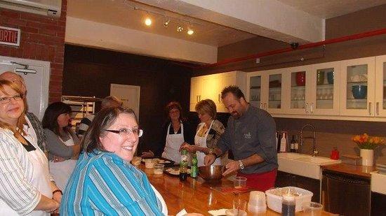 La Guilde Culinaire: Notre Chef Jonathan et quelques gagnantes