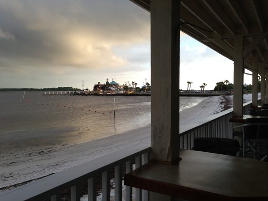 The Island Room Restaurant at Cedar Cove: View from the restaurant