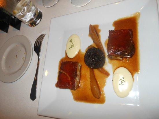 Maricel: cerdo en salsa de ciruela y gengibre