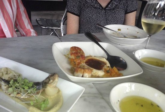 Grilled Sardine with Fennel & Scallops - Picture of Tasso Bar a Mezze ...