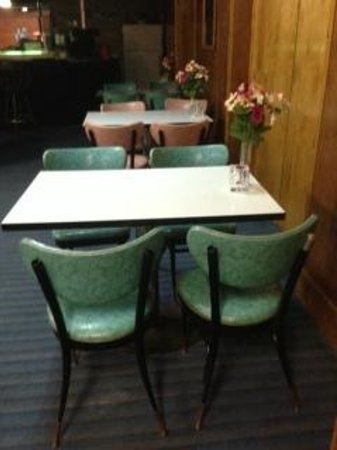 Lancaster Motor Inn: The original 'retro' chairs!  Loved them.