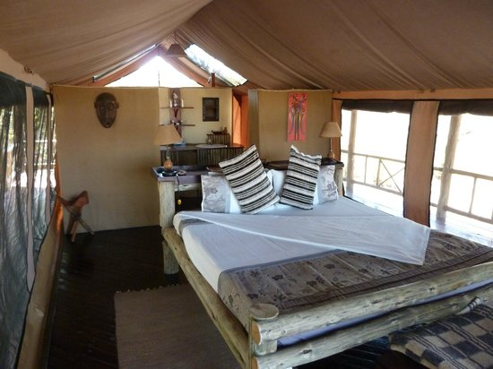 Katavi Wildlife Camp: Inside our banda