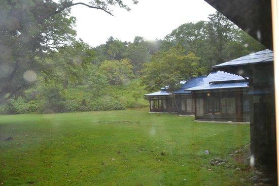 Yubari Rokumeikan: garden