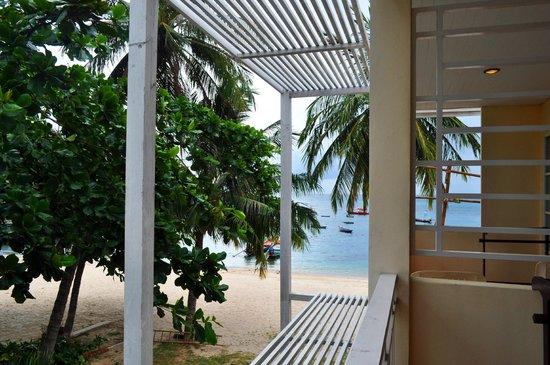 Ananda Villa : Вид с балкона