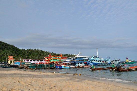 Ananda Villa : Пляж