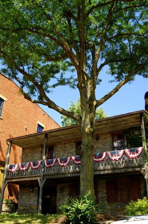 Dowling House: Galena's oldest & oldest looking house.
