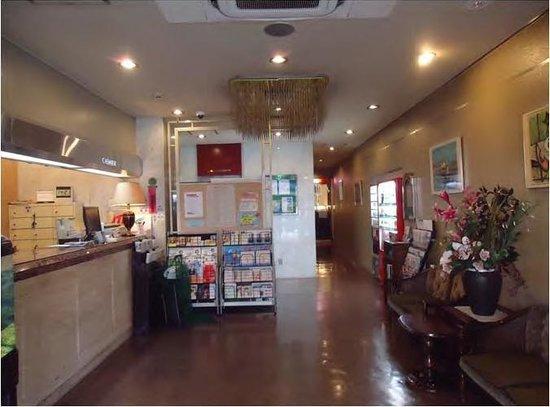Business Hotel Nissei: reception/lobby