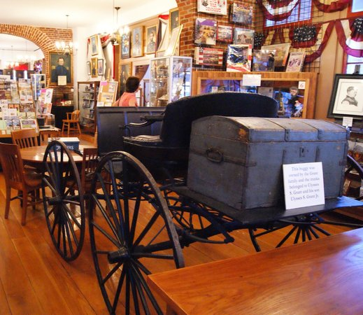 Old Market House State Historic Site: More US Grant and Grant family memorabilia!