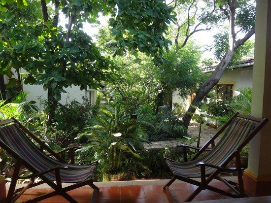 Hotel Casa Barcelona: Green Garden