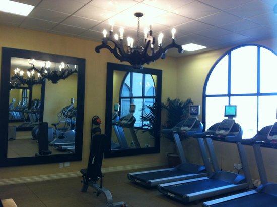 Hotel Encanto de Las Cruces: gym life