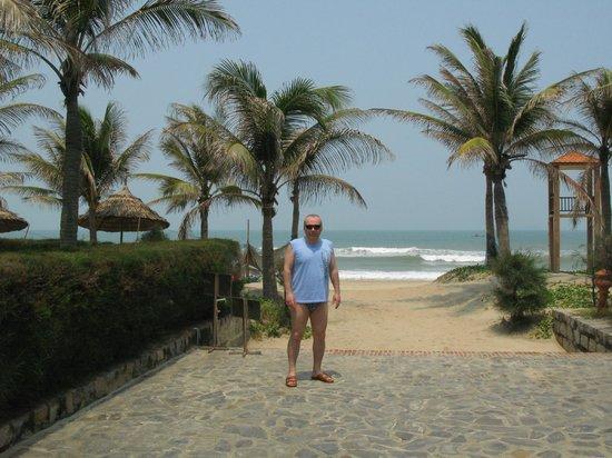 Cua Dai Beach: У берега