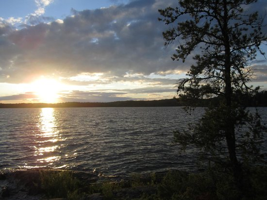 Boundary Waters Canoe Area Wilderness: Basswood Lake = BWCA