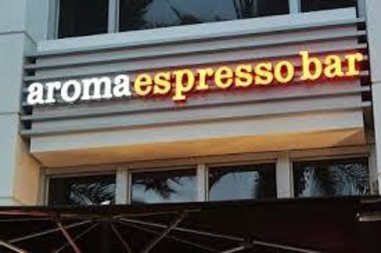 Photo of American Restaurant Aroma Espresso Bar at 1601 Collins Ave, Miami Beach, FL 33139, United States