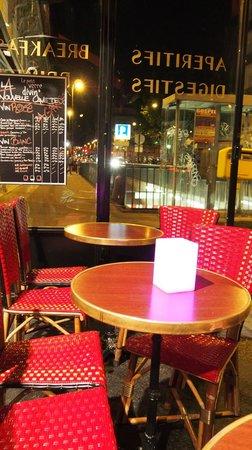Bistrot La Grange : Restaurant Outdoor Seating