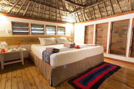 Robinson Crusoe Island Resort: Bure Levu Interior
