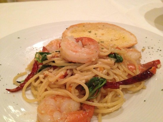 Anna & Son Cuisine: Pasta with tiger prawn