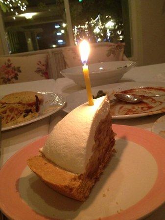 Anna & Son Cuisine: my birthday complimentary