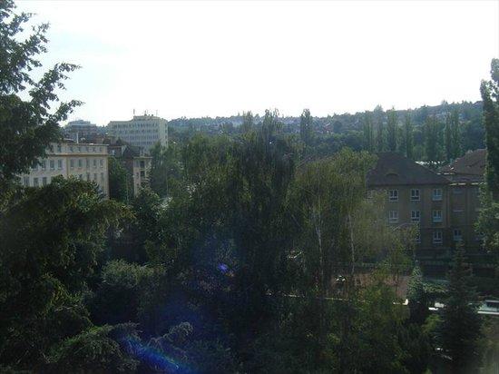 Hotel International Prague: View from room