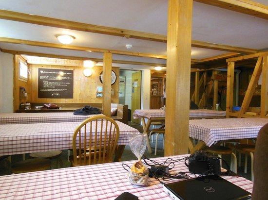 Mountain Hostel: The Hostel's Main Room