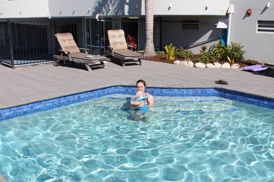 Sundancer Holiday Apartments: Heated swimming pool