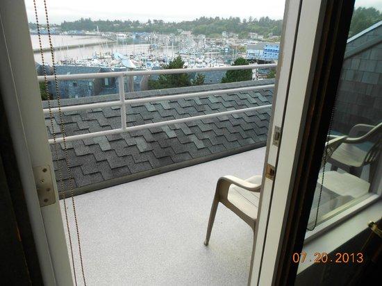 Embarcadero Resort Hotel: View from the balcony