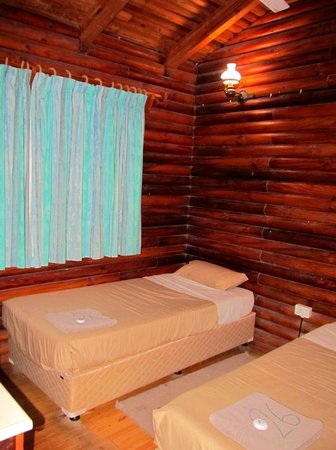Cape Vidal Camp: First bedroom