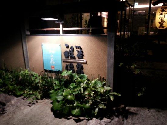 Hotel Iyaonsen : 看板