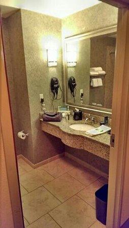 Holiday Inn Express Hotel & Suites Poteau : bathroom