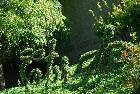Etude Winery: Garden Art