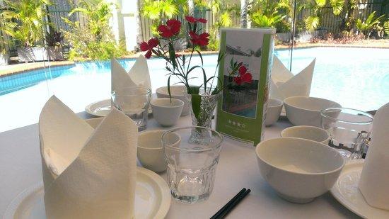 Crystal Garden Resort & Restaurant: Poolside