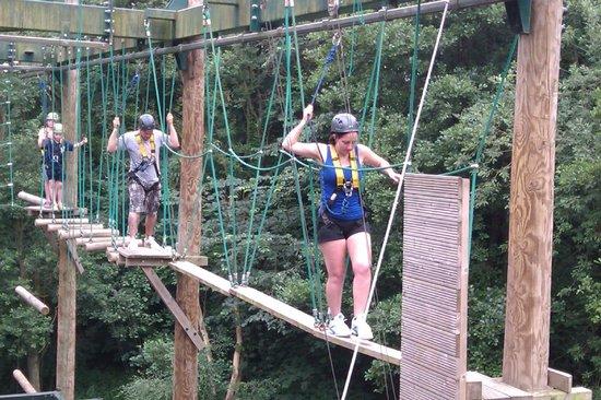 Zip Wire Fantastic Picture Of Challenge Academy