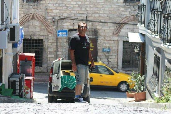 Serenity Hotel Istanbul: Street