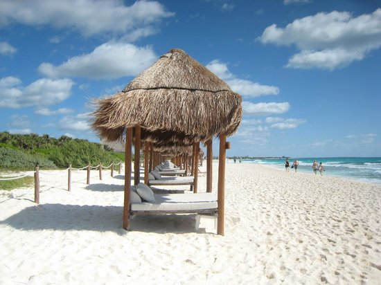 Valentin Imperial Riviera Maya Beach Cabanas