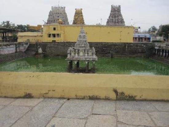 Kamakshi Amman Sacred Temple Tank