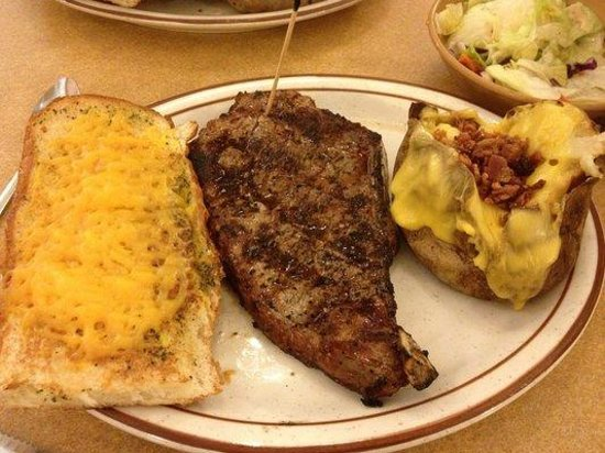 Tad's Steakhouse : Tad's Famous Steak special cut