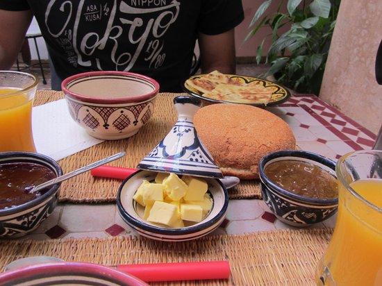 Riad Dar Saba: Petit déjeuné