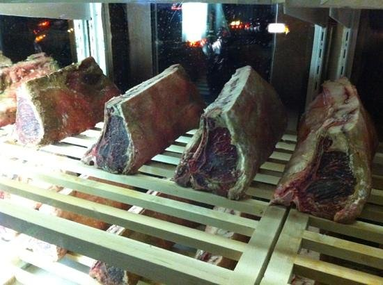 Espetus Churrascaria : Steaks in storage