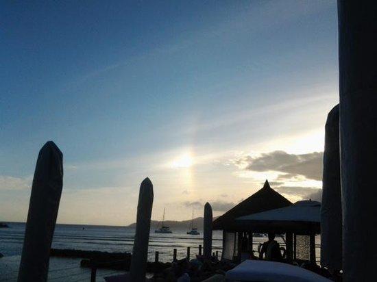 Le Domaine de L'Orangeraie Resort and Spa: couché de soleil