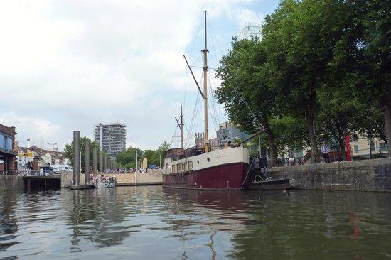 Bristol Ferry Boats: l'attracco in centro città