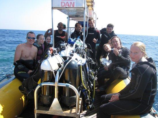 Proteus Diving: Gezelligheid is een 'must'