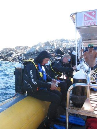 Proteus Diving: Voorbereiding