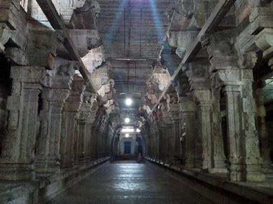 Pillared Corridor surrouding the whole Temple