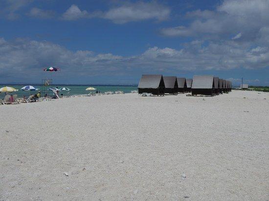 Nagannu Island : Choose bungalow or umbrella