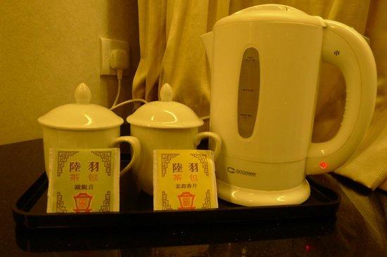 West Hotel: Famous restaurant brand of tea leaf bag