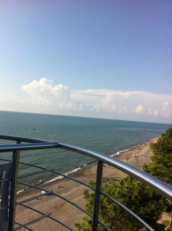 Hotel Sanapiro: view from my room